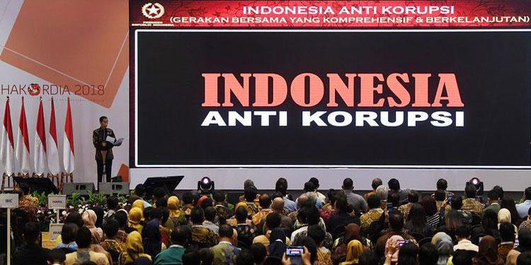 Korupsi Seperti Kanker Stadium 4? Jokowi: Kalau Bicara Pakai Angka dan Data!