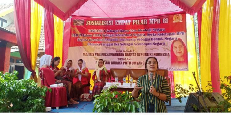 Budayawan Komunitas Kekunaan Jimbe Blitar Pun Ikuti Sosialisasi 4 Pilar MPR