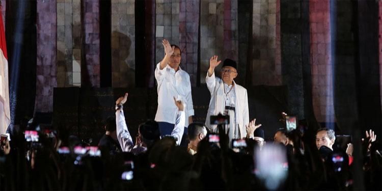 Jokowi-Ma'ruf Unggul, Vox Populi: Karena Masyarakat Puas Kinerja Pemerintah