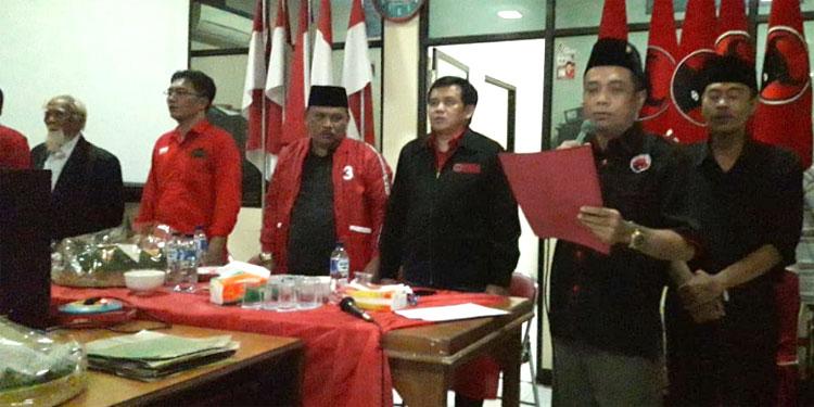 Kader PDIP dan Kaum Nasionalis Nganjuk Teguhkan Tekad Menangkan Jokowi-Ma'ruf