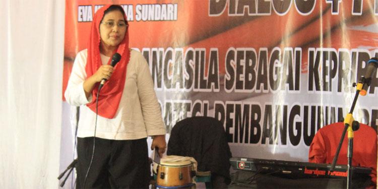 Sosialisasi 4 Pilar di Desa, Eva: Pancasila Merupakan Jiwa Kebudayaan Indonesia