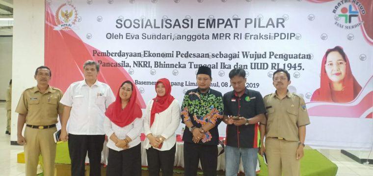 Eva Sundari Dorong Kades dan Ketua BUMDes Kolaborasi Bentuk BUMADes