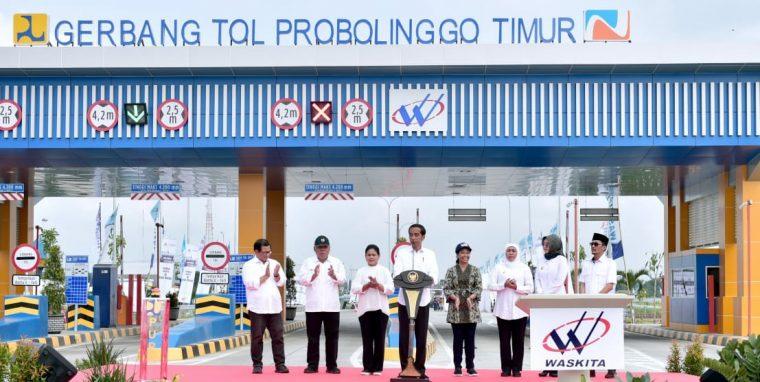 Pasuruan-Probolinggo Tersambung Tol, Jokowi Harap UKM Jatim Berkembang Pesat