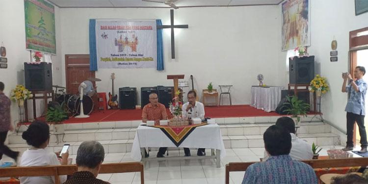 Legislator DPR Sosialisasikan Program Sertifikasi Tanah kepada Pendeta Blitar