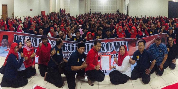 TKN Terima Deklarasi Dukungan Honorer K2 Jatim untuk Jokowi-Ma'ruf