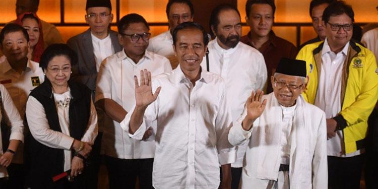 Unggul di Quick Count, Jokowi-Ma'ruf Terima Ucapan Selamat dari 21 Kepala Negara