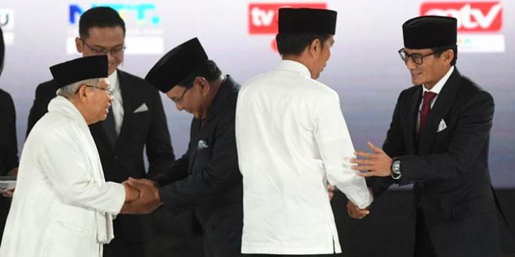 Situng KPU Data 20,3 %: Jokowi-Ma'ruf 55,08 %, Prabowo