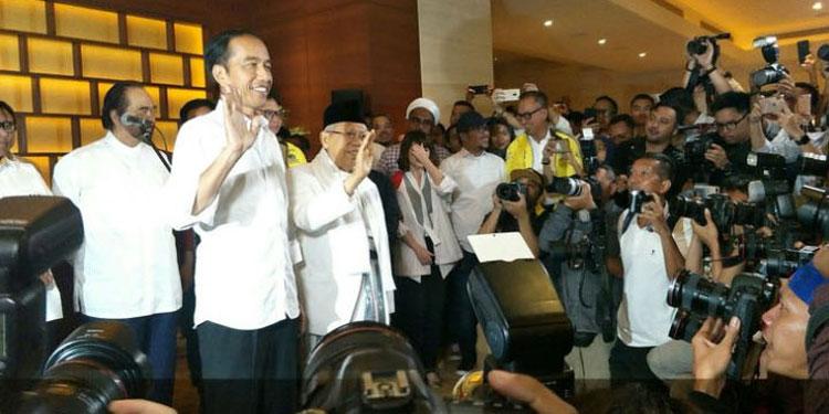 "Unggul ""Quick Count"", Jokowi: Tunggu Penghitungan Resmi KPU"