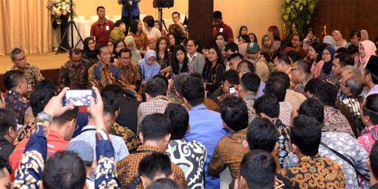 Buka Puasa Bersama, Jokowi Ucapkan Terima Kasih kepada Wartawan