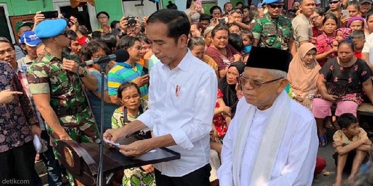Dipercaya Pimpin RI, Jokowi-Ma'ruf Ucapkan Terima Kasih kepada Seluruh Rakyat