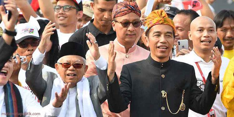 Rekapitulasi Nasional Tuntas, Jokowi-Ma'ruf Jawara Pilpres 2019