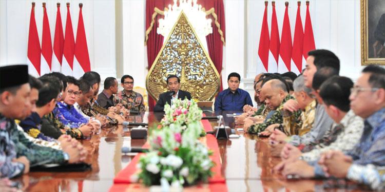 Jokowi Ajak Pengusaha Manfaatkan Peluang dari Perang Dagang AS-RRT
