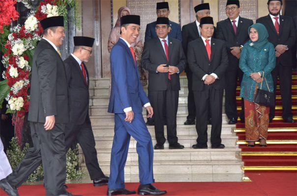Pidato Tahunan Jokowi 2019