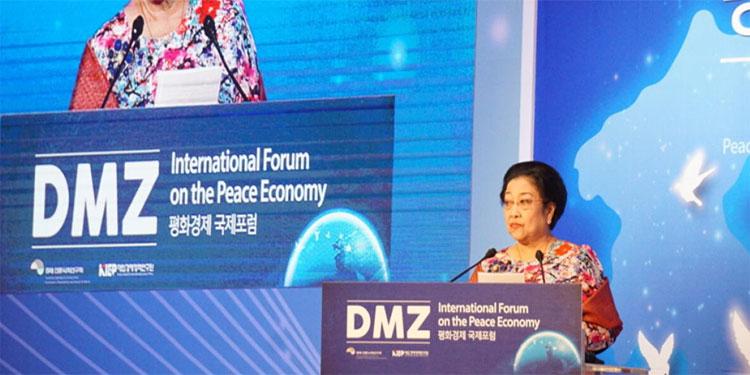 Suara Megawati Tertahan Saat Sampaikan Pesan Bung Karno
