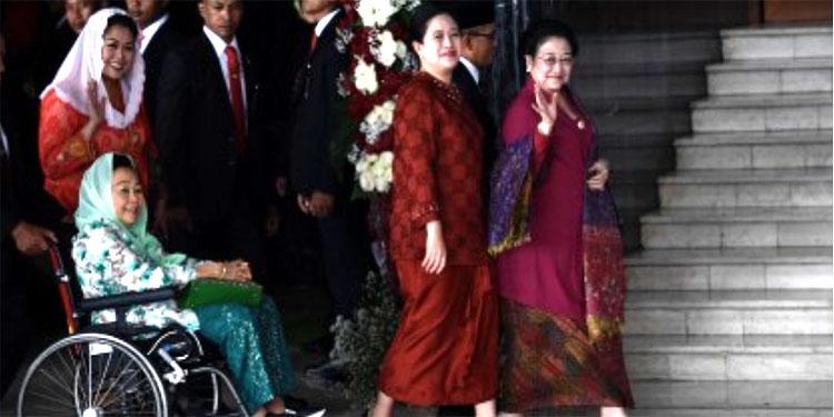 Hadiri Sidang Tahunan MPR, Megawati Bawa Suasana Kebatinan Kongres V