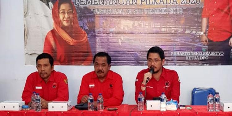 PDIP Kota Pasuruan Buka Pendaftaran Pilwali, Teno Siap Mendaftar