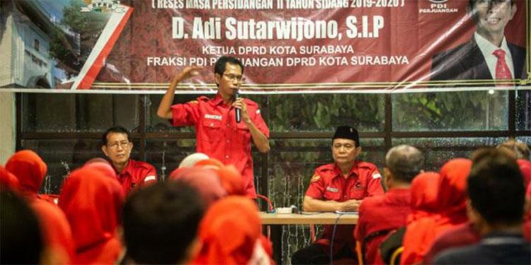 Perkuat Pemkot Hadang Covid-19, Kader PDIP Surabaya Diminta Hadir di Tengah Rakyat