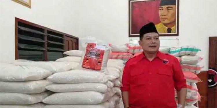 PDIP Kabupaten Malang Gelontor 45 Ton Beras Gratis, Ini Sasarannya