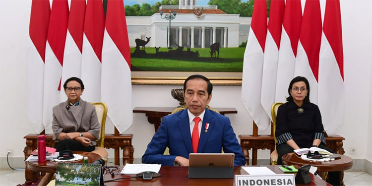 Jokowi Ajak G20 Menangkan Perang Lawan Covid-19 dan Pelemahan Ekonomi