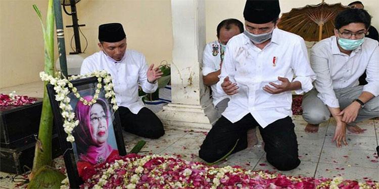 Belasungkawa atas Wafatnya Ibunda Jokowi Mengalir dari Para Pemimpin Negara