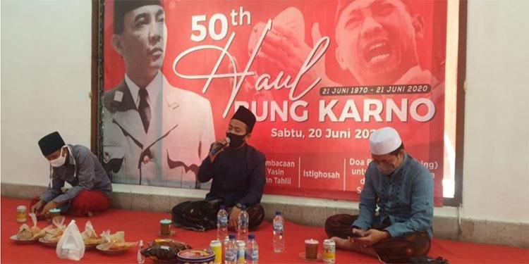 Haul Bung Karno , PDIP Surabaya Gelar Doa Lintas Agama dan Khotmil Quran