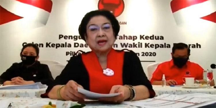 Pesan Megawati untuk Calon Kada: Segera Gerak Cepat Turun ke Rakyat