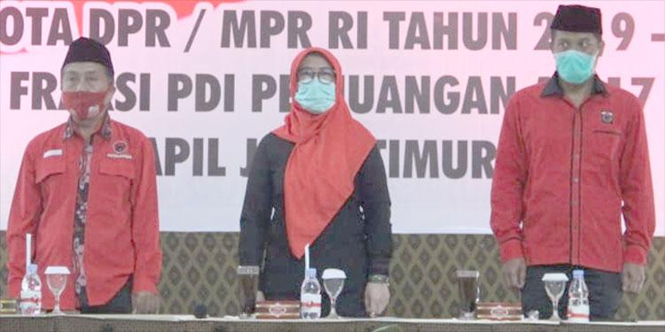 Suwito: Kader PDIP Kabupaten Blitar Wajib Menangkan Pasangan RIDO APIK