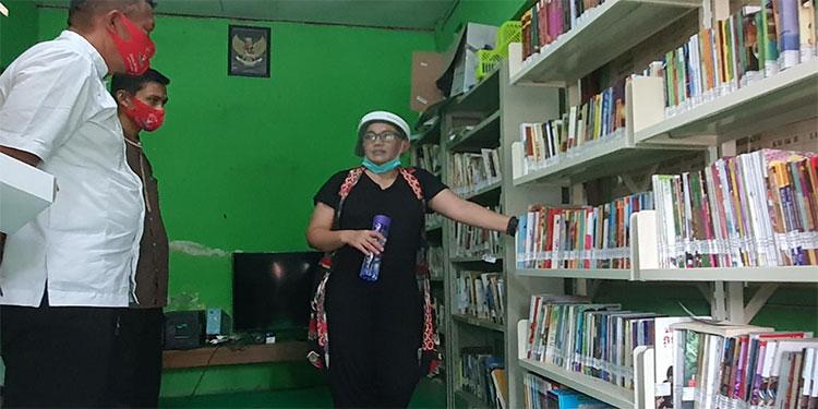 Reses, Diana Berbagi Tips Agar Perpustakaan Masyarakat dapat Hidup