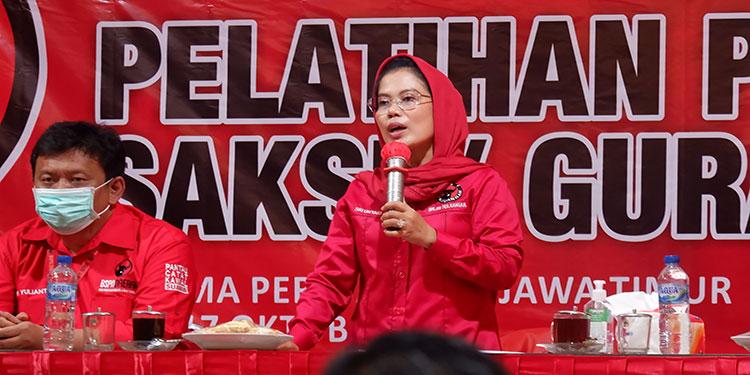 Tutup TOT Pelatih Saksi Pilkada, Ini Instruksi Sekretaris DPD PDI Perjuangan Jatim