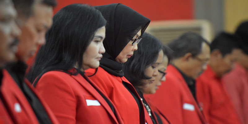 Peserta Rakorda Bacakan Al-Fatihah untuk Ibunda Pramono
