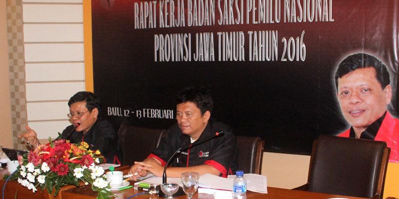 Jelang Pilkada 2017 dan 2018, BSPN Jatim Gelar Raker