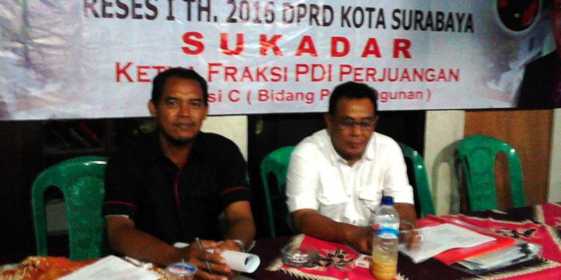 Ketua Fraksi PDIP DPRD Surabaya Tancap Gas Awali Reses Ideologi