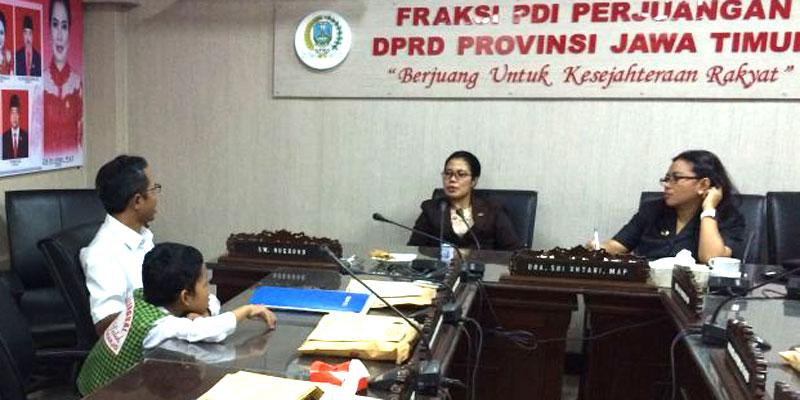 Fraksi PDIP DPRD Jatim Perjuangkan Anak Jenius Bisa Ikut Unas