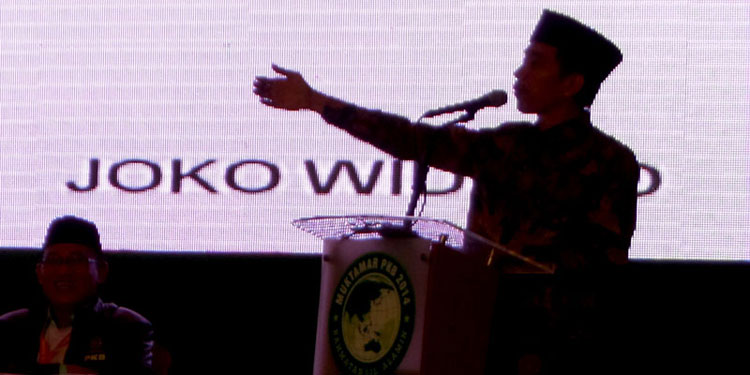 pdip-jatim-Joko-Widodo-di-Muktamar-PKB