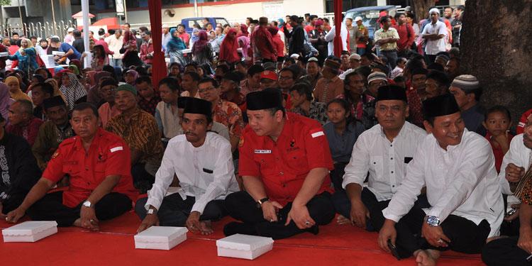 pdip-jatim-Bukber-DPC-Surabaya.