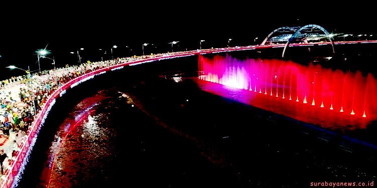 pdip-jatim-jembatan-kenjeran-diresmikan
