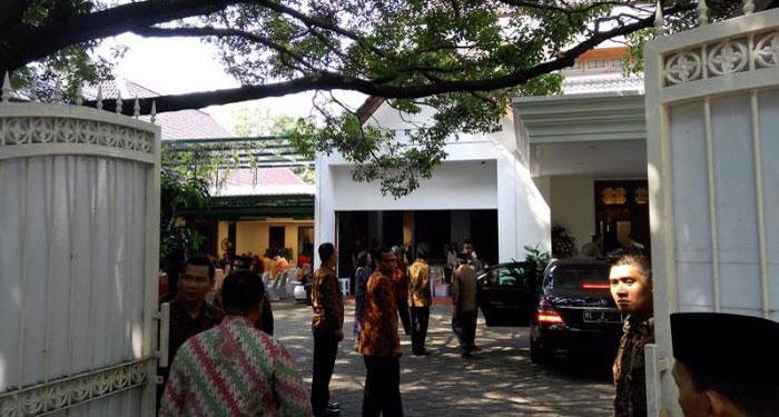 "Tak Gelar ""Open House"", Tokoh Nasional Tetap Silaturahmi ke Rumah Megawati"