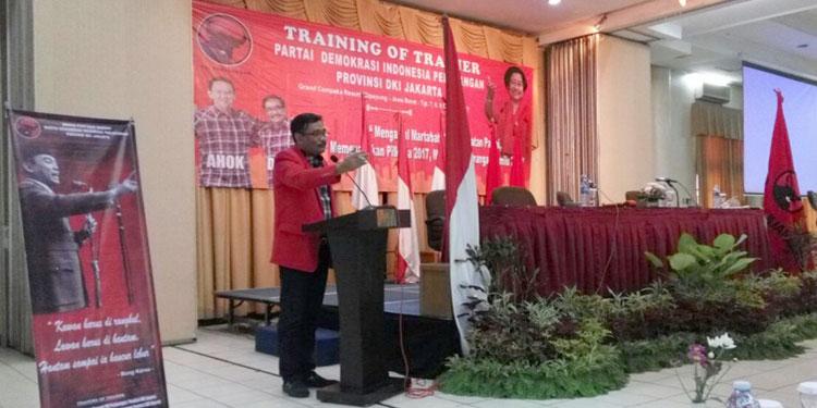 Amankan Hasil Suara Pilgub DKI, PDIP Siapkan 30.000 Saksi