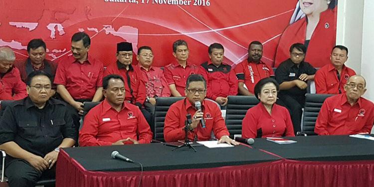Sejumlah Menteri Jelaskan Situasi Politik Terkini ke Pengurus DPD PDIP