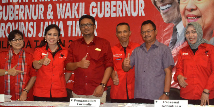 Pendaftaran Ditutup, PDIP Jatim Jaring 6 Kandidat Cagub-cawagub