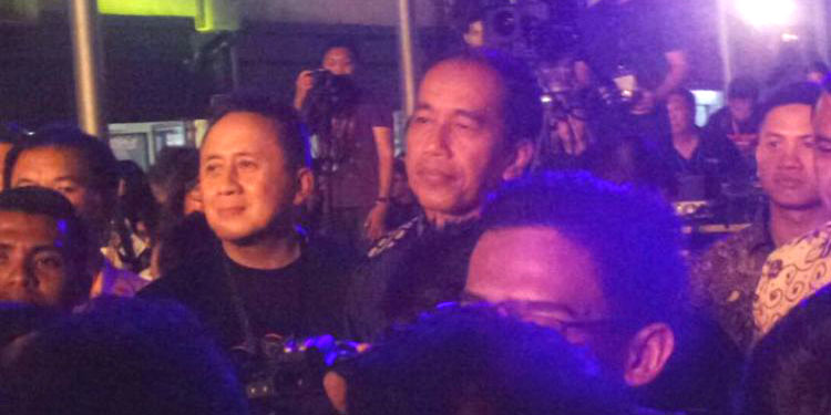 "Hadiri Synchronize Fest 2017, Jokowi Bikin ""Shock"" Ebiet G Ade"