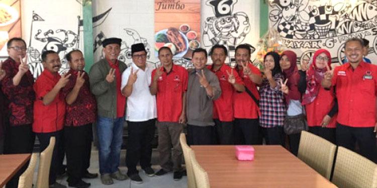 Menangkan Gus Ipul-Mbak Puti, Kader PDIP DKI Blusukan di Tuban