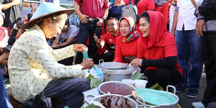 Upaya Perkuat Pasar Tradisional, Puti Gali Masukan di Pasar Besar Ngawi