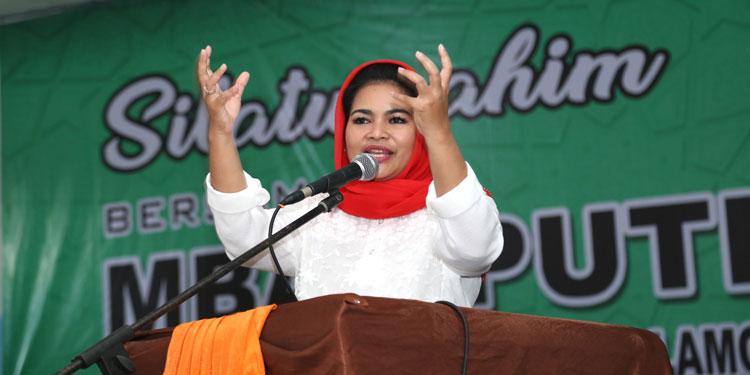 Makin Menebal, Dukungan Muslimat dan Fatayat untuk Gus Ipul-Puti