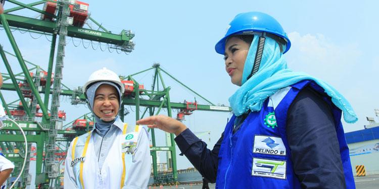 Puti Kunjungi Infrastruktur yang Perkuat Nawacita Jokowi