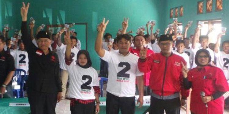 Agar Gus Ipul-Puti Menang Tebal, Kader PDIP Ponorogo Pun Door To Door