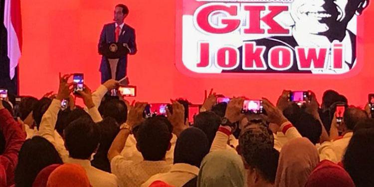 Menangkan Kembali Jokowi, 65 Elemen Relawan Gelar Rapat Umum
