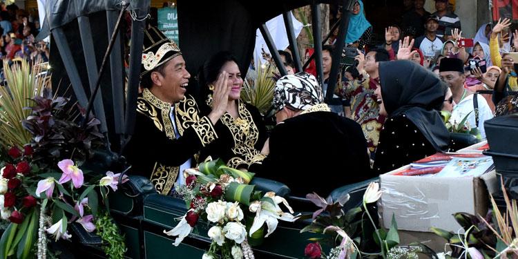 Raja-raja Nusantara Doakan Presiden RI Tetap Jokowi