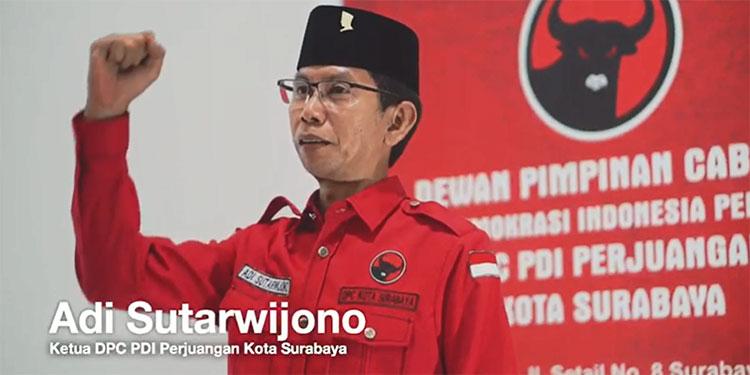 Ucapkan Selamat Lebaran, Ketua PDIP Surabaya Ajak Masyarakat Tetap Semangat