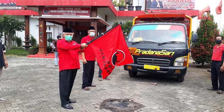 PDIP Kabupaten Malang Buka Dapur Umum dan Bagikan 11 Ribu Sembako